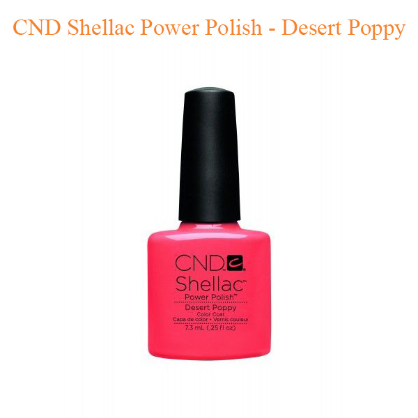 CND Shellac Power Polish – Desert Poppy