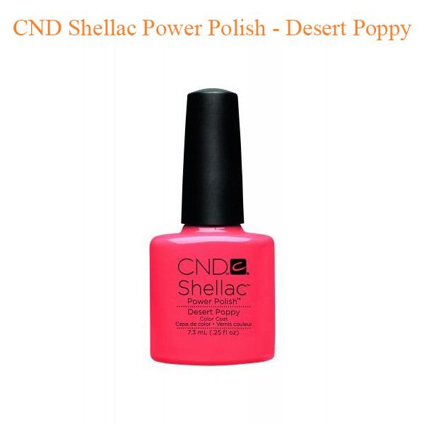 Sơn Gel CND Shellac – Desert Poppy