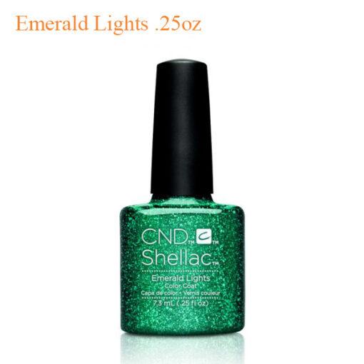 CND Shellac Power Polish – Emerald Lights .25oz