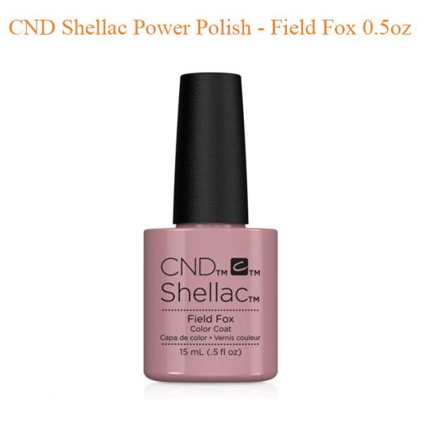CND Shellac Power Polish – Field Fox 0.5oz