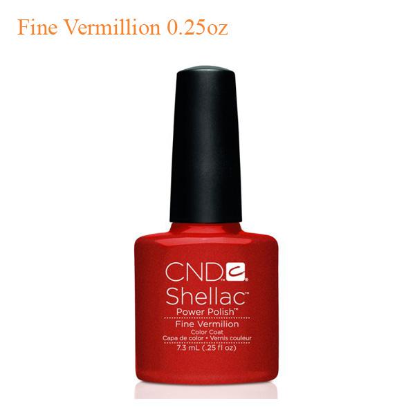 Sơn Gel CND Shellac – Fine Vermillion 0.25oz