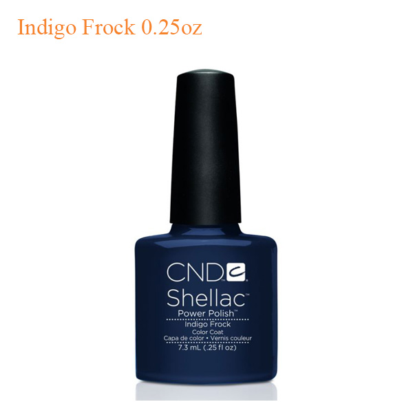 CND Shellac Power Polish – Indigo Frock 0.25oz