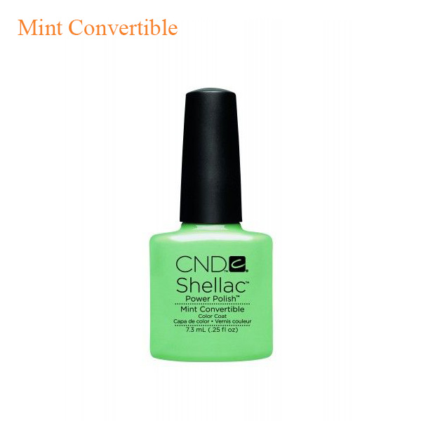 CND Shellac Power Polish – Mint Convertible