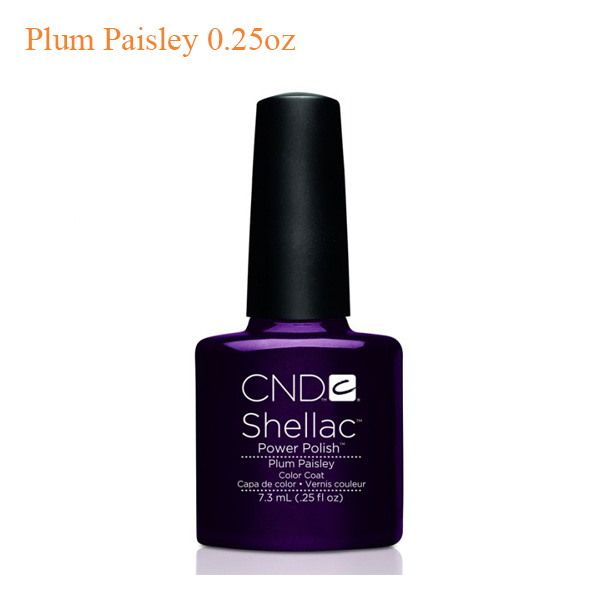 CND Shellac Power Polish – Plum Paisley 0.25oz