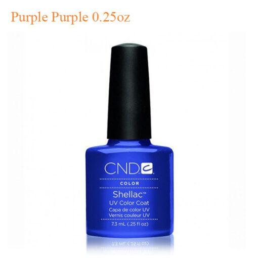 CND Shellac Power Polish – Purple Purple 0.25oz