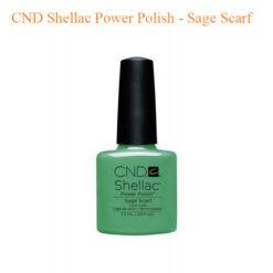 CND Shellac Power Polish – Sage Scarf