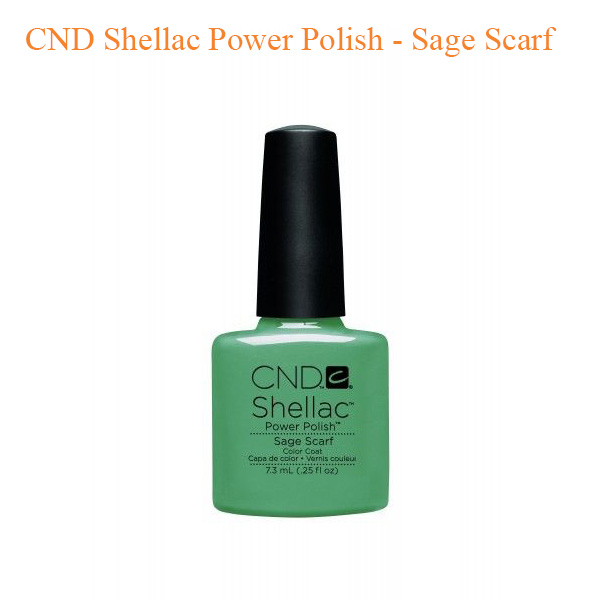 CND Shellac Power Polish – Sage Scarf