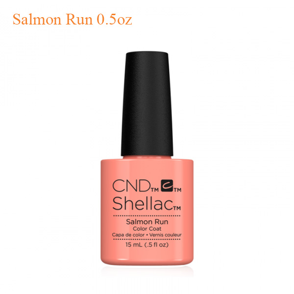 CND Shellac Power Polish – Salmon Run 0.5oz