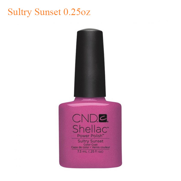 CND Shellac Power Polish – Sultry Sunset 0.25oz