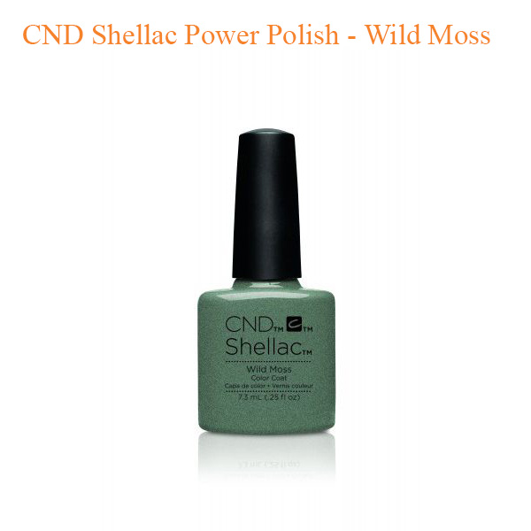CND Shellac Power Polish – Wild Moss