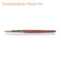Chisel Nail Art – Round Kolinsky Brush #10