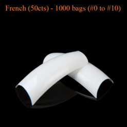 French 50cts 1000 bags 0 to 10 247x247 - Equipment nail salon furniture manicure pedicure