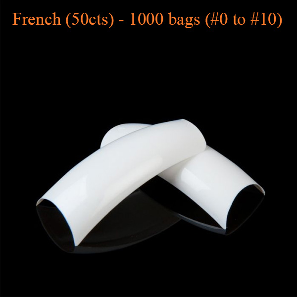 French (50cts) – 1000 bags (#0 to #10)