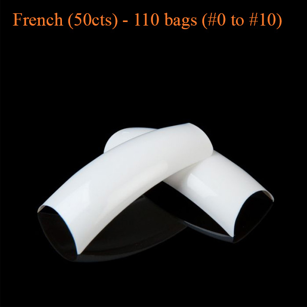 French (50cts) – 110 bags (#0 to #10)