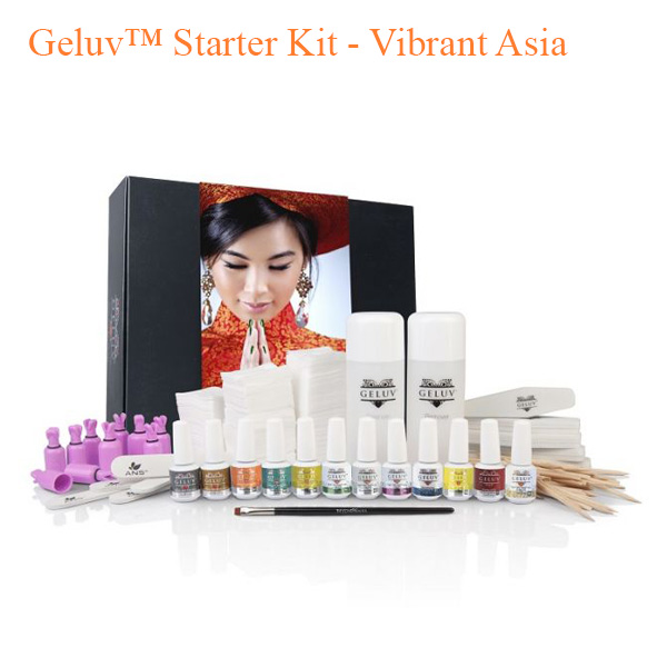Geluv™ Starter Kit – Vibrant Asia