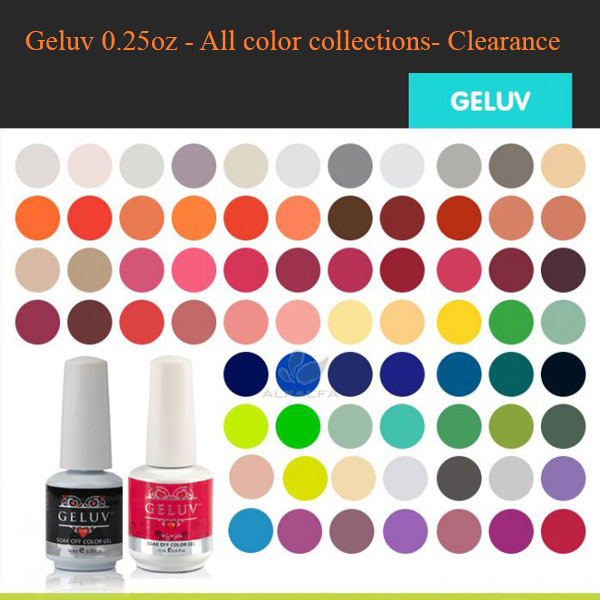 Geluv 0.25oz – All Color Collections- Clearance