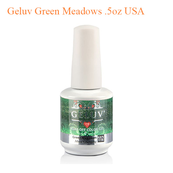 Geluv Green Meadows .5oz USA- Mood Changing
