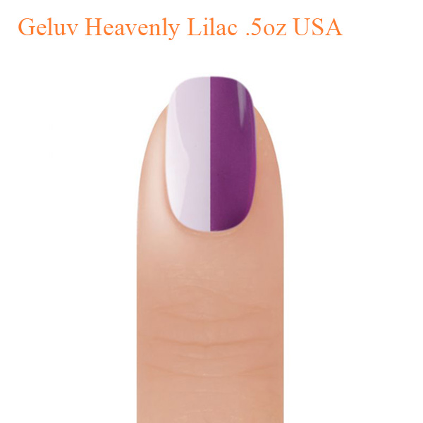 Geluv Heavenly Lilac .5oz USA- Mood Changing