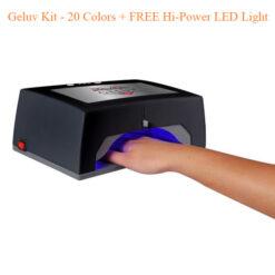 Bộ Sơn Gel Geluv – 20 Colors + FREE Đèn LED Công Suất Cao