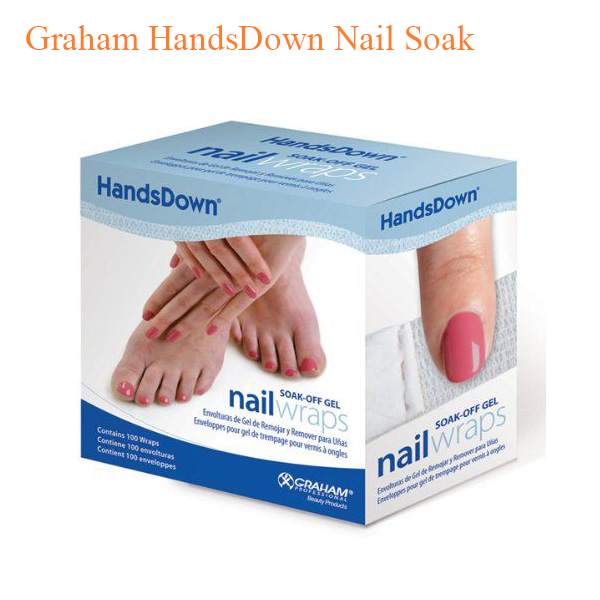 Graham HandsDown Nail Soak-off Gel Nail Wraps
