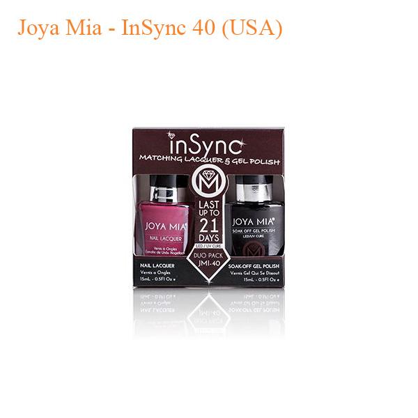 Joya Mia – InSync 40 (USA)