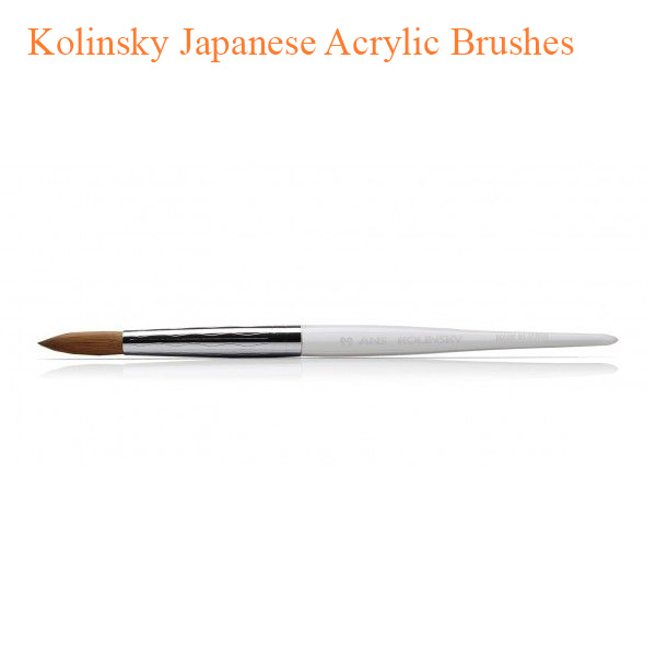 Kolinsky Japanese Acrylic Brushes