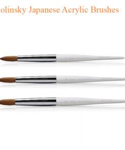 Kolinsky Japanese Acrylic Brushes