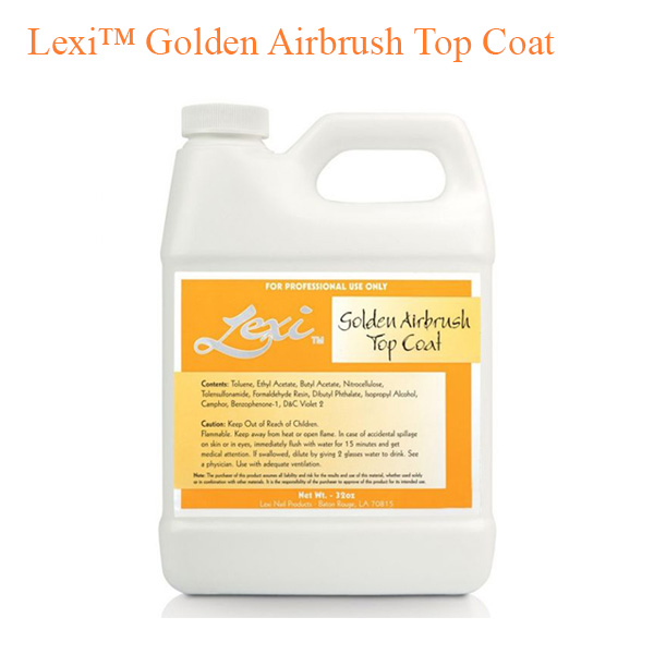 Lexi™ Golden Airbrush Top Coat