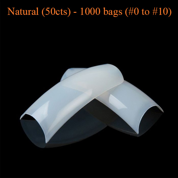 Natural (50cts) – 1000 bags (#0 to #10)