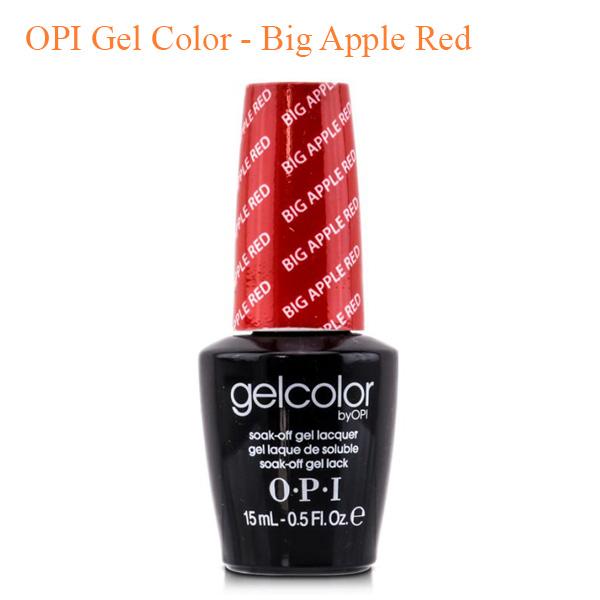 OPI Gel Color – Big Apple Red
