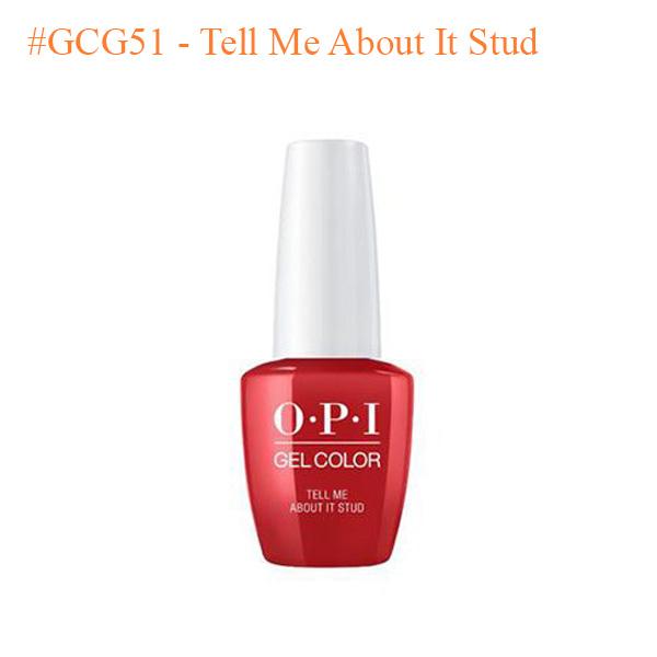 OPI Gel GCG51 Tell Me About It Stud 0 - Sản phẩm mua nhiều
