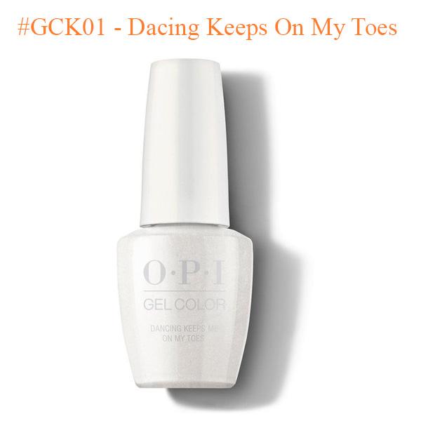 OPI Gel GCK01 Dacing Keeps On My Toes - Top Selling