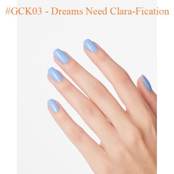 OPI Gel GCK03 Dreams Need Clara Fication 0 - Top Selling