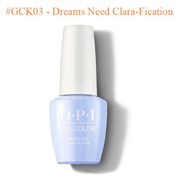OPI Gel GCK03 Dreams Need Clara Fication - Top Selling