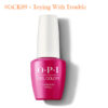 OPI Gel #GCK09 – Toying With Trouble