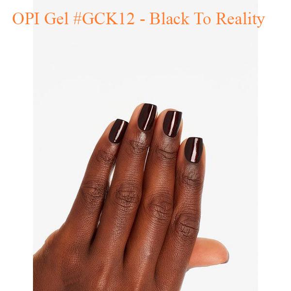 OPI Gel GCK12 Black To Reality 0 - Sản phẩm mua nhiều