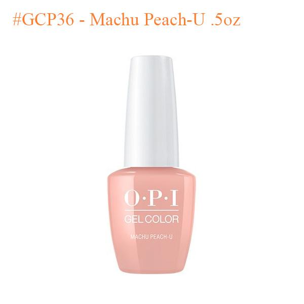 OPI Gel GCP36 Machu Peach U .5oz - Top Selling
