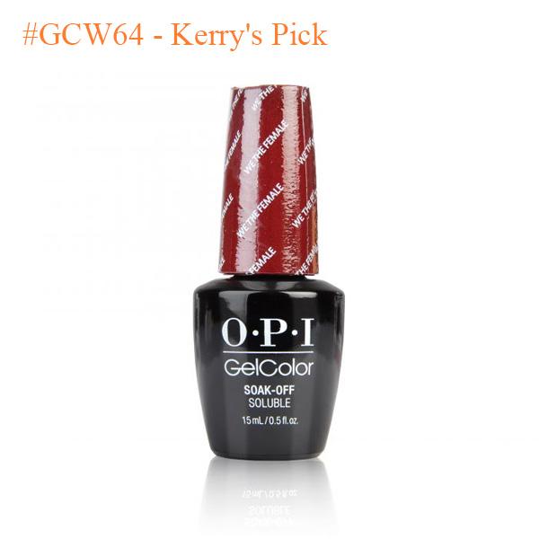 OPI Gel GCW64 WashingtonDC Collection Kerrys Pick - Sản phẩm mua nhiều