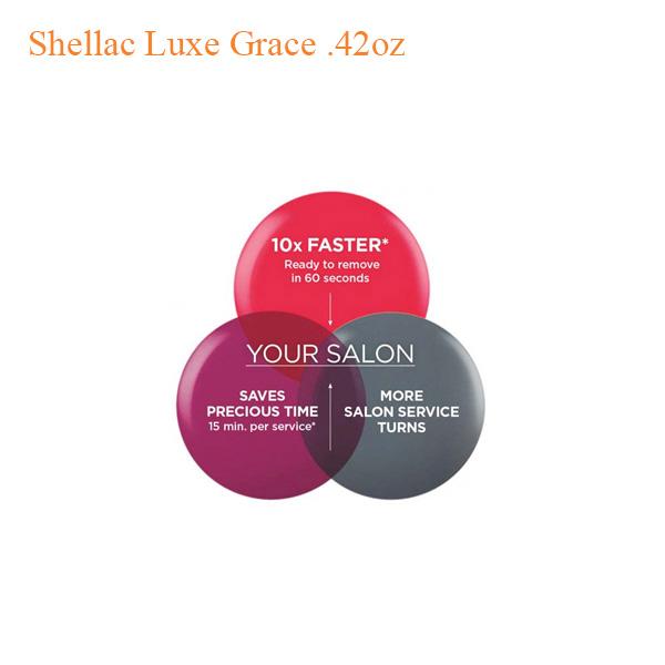 Sơn Gel Shellac Luxe – Grace 0.42oz