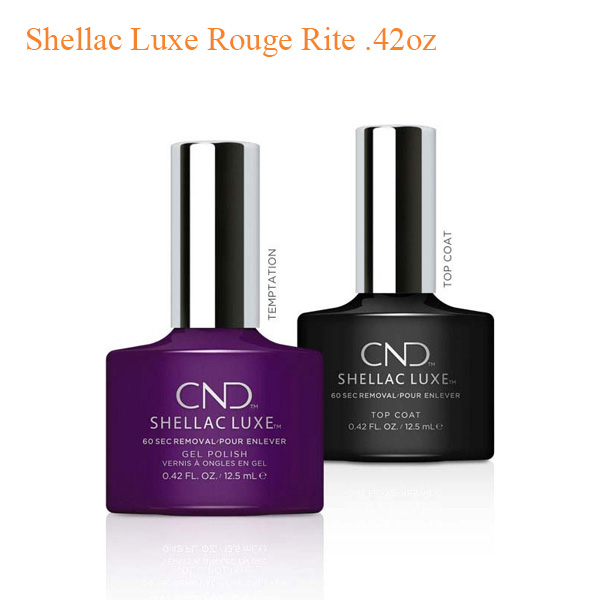 Shellac Luxe Rouge Rite .42oz