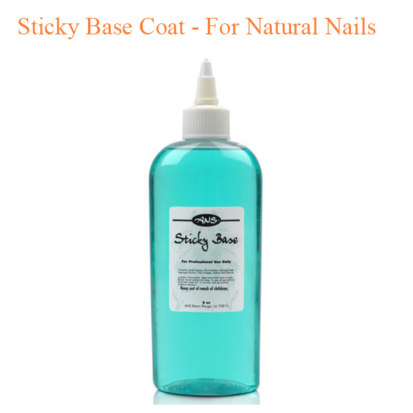 Sticky Base Coat – For Natural Nails