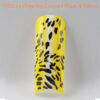 Tip Beyond Design YD2-14 (70pc_bx) Leopard black & yellow