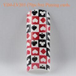 Tip Beyond Design YD4-LV203 (70pc-bx) Playing cards