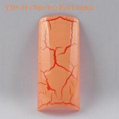 Tip Beyond Design YD5 39 70pc bx Red Crackle 247x247 - Equipment nail salon furniture manicure pedicure