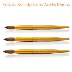 Venetian Kolinsky Italian Acrylic Brushes