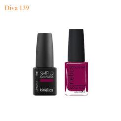 Kinetics Shiled Gel And SolarGel Polish Duo Diva 139 247x247 - Equipment nail salon furniture manicure pedicure