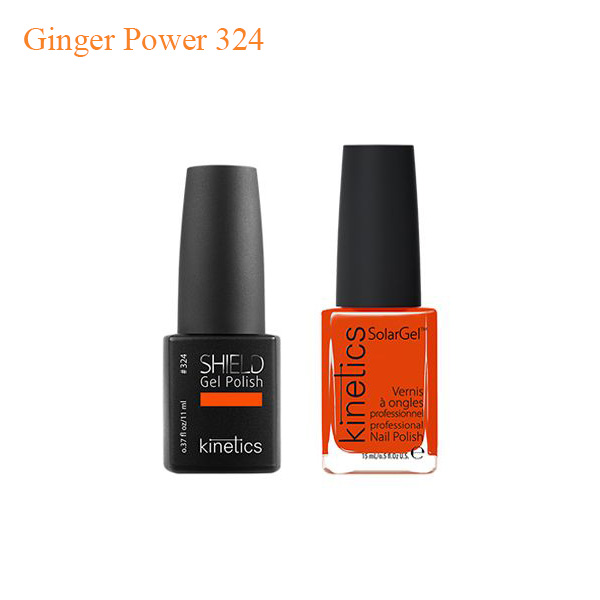 Kinetics – Shiled Gel And SolarGel Polish Duo Ginger Power 324