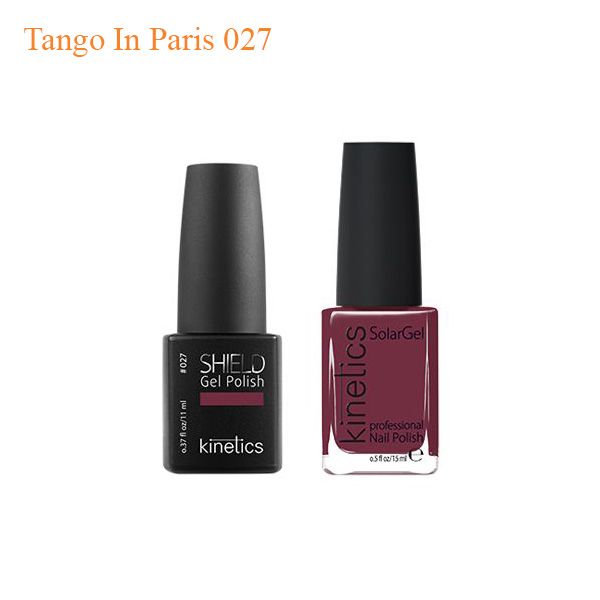 Kinetics – Shiled Gel And SolarGel Polish Duo Tango In Paris 027