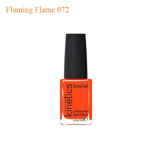 Kinetics – SolarGel Polish – Flaming Flame 072