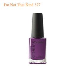 Kinetics – SolarGel Polish – I'm Not That Kind 377